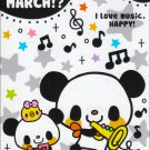 q-lia panda march memo pad