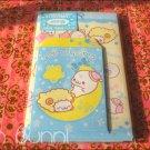 san-x mamegoma mini envelope set yellow