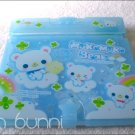 q-lia mokomoko bear letter set with case