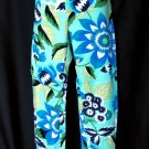 Zara Woman Bold Blue Capri Pants US 4, EU 36, MEX 26, (S) Small