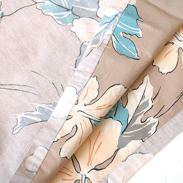 Tori Richard Henley Button Inside-Out Print Cotton Hawaiian Shirt Men's Size XL
