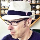 Texas Rangers SGA Coca-Cola Fedora Hat Night 2014 NEW white baseball MLB