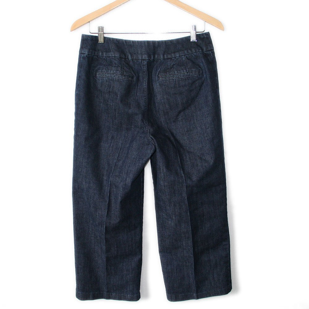 Chico's Platinum Regular Rise Tristan RG Crop Capri Jeans Size 1 (Women's Small) S (30x24)