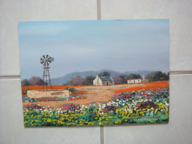 Original Oil Painting - South African Artist - W Cape
