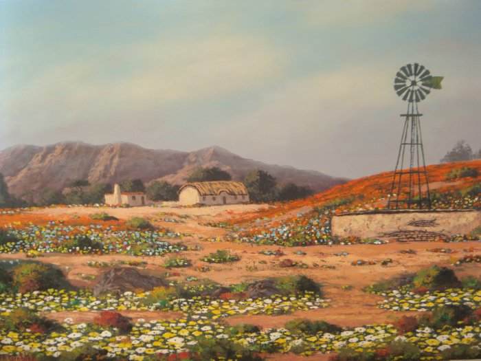 Original Oil Painting - South African Artist - Namaquland