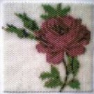 Red Rose Amulet Bag Pattern