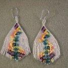 Swirls Fringe Earrings Pattern