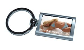 Louise-may Metal Keyring 3