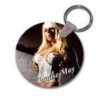 Louise-may Round Keyring