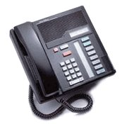 NORTEL NORSTAR M7208 BLACK TELEPHONE