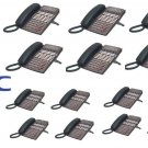 NEC DSX40 PHONE SYSTEM (6) 34B (10) 22 BUTTON DISPLAY PHONES DSX