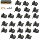 Shoretel 50V KSU VOIP Phone System  W/ 24  230 Phones Telephones