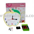 Children clock; Paper clock; Toy clock(DIY-C006)