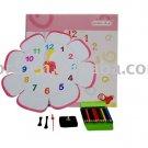 Children clock; Paper clock; Toy clock(DIY-C001)
