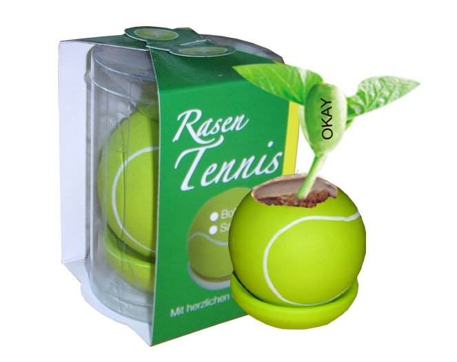 Tennis ball plants;Ceramic tennis ball; Toy tennis ball
