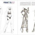 COURTNEY & JUNIPER Magazine Paper Dolls 2 PAGES