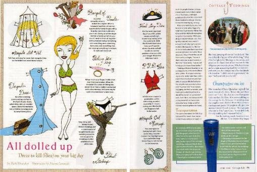 ALL DOLLED UP Canadian Magazine Paper Dolls