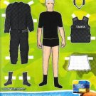 TAMPAX COMPAK British Magazine Ad Paper Dolls