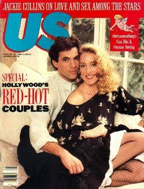 US 2/20/89 Ken Olin PATRICIA WETTIG Jackie Collins