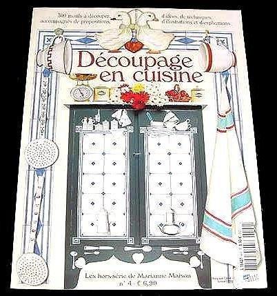 DECOUPAGE EN CUISINE Over 300 Kitchen Illustrations