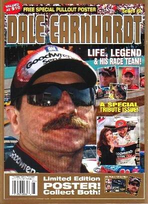 Dale Earnhardt Life Legend & Race Team 2001 Magazine