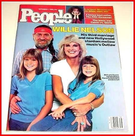 PEOPLE Magazine September 1, 1980 WILLIE NELSON Cover