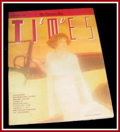 TV TIMES 3/4/88 Ellen Wheeler LUCILLE BALL Mr. Rogers