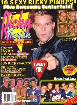 Starlog Presents RICKY MARTIN Celebrity Series #13 '99.