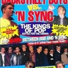 BACKSTREET BOYS VS 'N SYNC 2000 Pink BLAQUE Youngstown