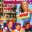 CELEBRITY INSIDER Magazine 'N SYNC Backstreet Boys LFO