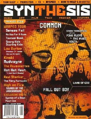 SYNTHESIS MAGAZINE Premiere Issue July/August 2005