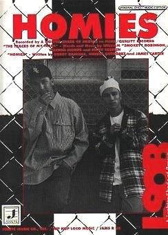 Homies A LIGHTER SHADE OF BROWN Rap Sheet Music 1993