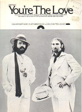 You Re The Love Seals Amp Crofts Sheet Music Cover Photo