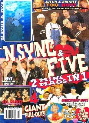 N SYNC & FIVE Winter 1999 Justin Timberlake Hologram
