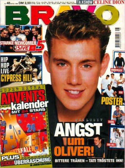 BRAVO MAGAZINE #48 November 26, 1998 Oli P CYPRESS HILL Echt
