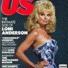 US MAGAZINE November 17, 1986 LONI ANDERSON Daryl Hall