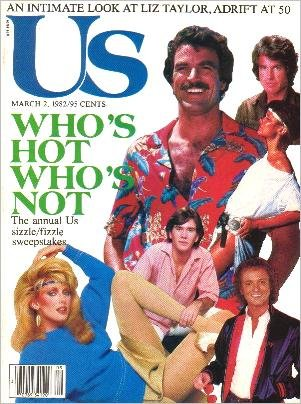 US Magazine March 2, 1982 WHO'S HOT WHO'S NOT
