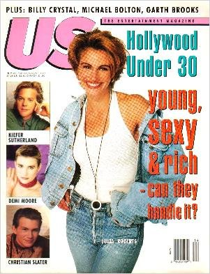 US Magazine Double Issue August 1991 JULIA ROBERTS COVER James Cameron