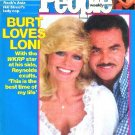 People Weekly Magazine June 7, 1982 LONI ANDERSON Burt Reynolds