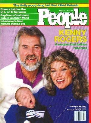 People Weekly Magazine March 29 1982 KENNY ROGERS Richard Pryor