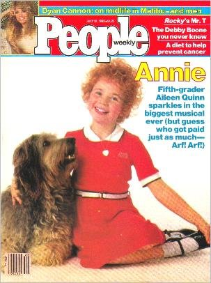 People Weekly Magazine July 12, 1982 Annie MR T Dyan Cannon