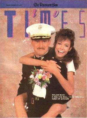 TV Times January 26, 1990 GERALD McRANEY Shanna Reed