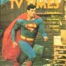 TV Times July 31, 1981 SUPERMAN Christopher Reeve