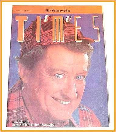 TV Times August 4, 1989 TOM POSTON Mel Harris