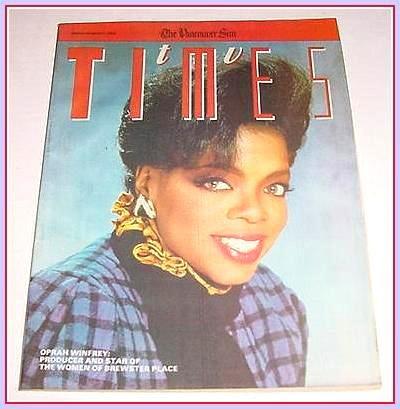 TV Times March 17, 1989 OPRAH WINFREY Kurt Robin McKinney