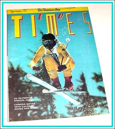 TV Times February 12, 1988 Winter Olympics MARJ DUSAY Deidre Hall