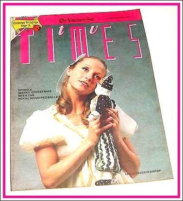 TV Times December 23, 1988 WINNIPEG BALLET Elizabeth Dennehy