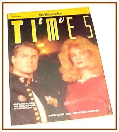 TV Times April 28, 1989 DAVID KEITH Amy Stock-Poynton