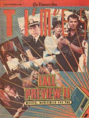 TV Times September 22, 1989 Fall Preivew Part II