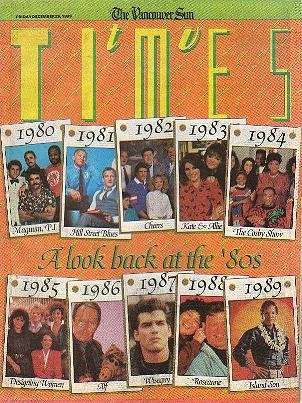 TV Times December 29, 1989 A LOOK BACK AT THE '80s Susan Seaforth Hayes